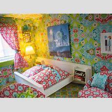 Neugestaltung Eines Puppenhauses 4 Bettwäsche, Gardinen