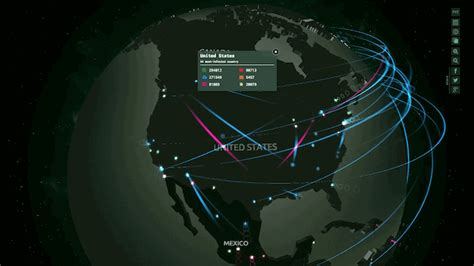 An Interactive Map Showing Global Cyberattacks In Real Time