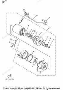 Yamaha Atv 2002 Oem Parts Diagram For Starting Motor
