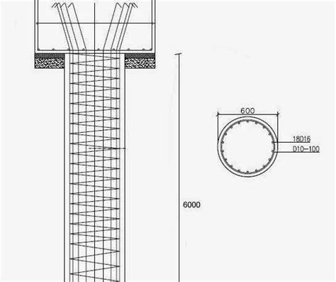 harga besi beton besi contoh perhitungan biaya pondasi bored pile rumah material