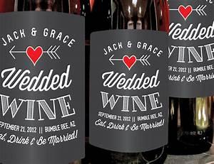 wedding wine bottle gift quotes just bcause With custom wine labels for weddings