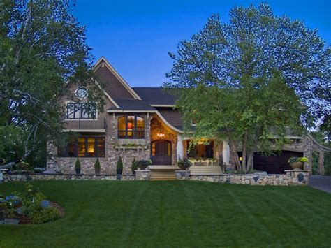 Edina Country Club Custom Designed Home   Modern