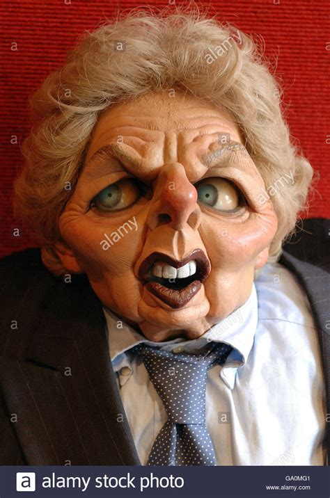 Puppet Images Spitting Image Puppets To Be Sold At Auction Stock Photo