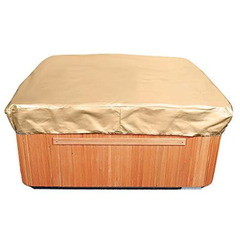 tub cover waterproof square tub cover all weather cap protection