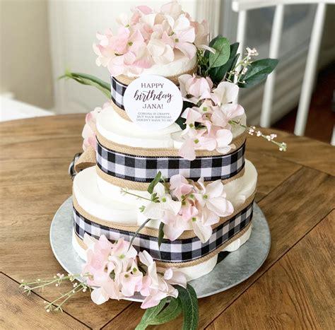 cake birthday toilet paper humor quarantine printable gift tp