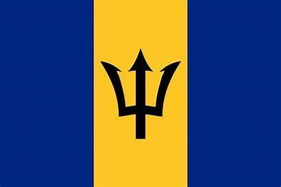 Barbados Wikipedia Olympics 1988 Summer Flag Svg