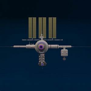 Space Station 3D Model MAX | CGTrader.com