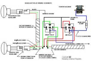 2006 honda civic dash kit install headlight relays for your 1970 mustang