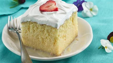 tres leches cake mix tres leches cake recipe dishmaps