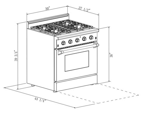 30 Kitchen Island - 30 in 4 2 cu ft stainless steel gas range with convection