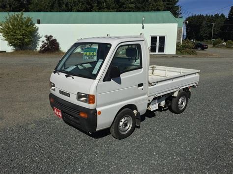 suzuki carry pickup 1998 suzuki pickup suzuki carry 4wd only 42 458kms right