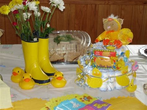 duck decorations for baby shower baby duck decorations best baby decoration