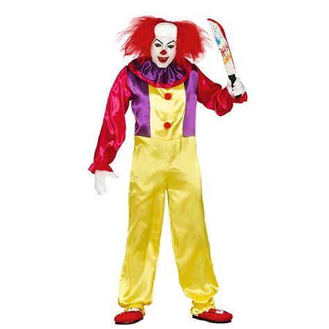 tenue de cuisine homme déguisement clown tueur adulte