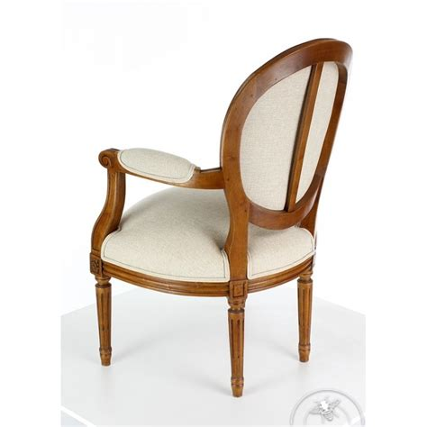 fauteuil medaillon louis xvi fauteuil louis xvi m 233 daillon saulaie