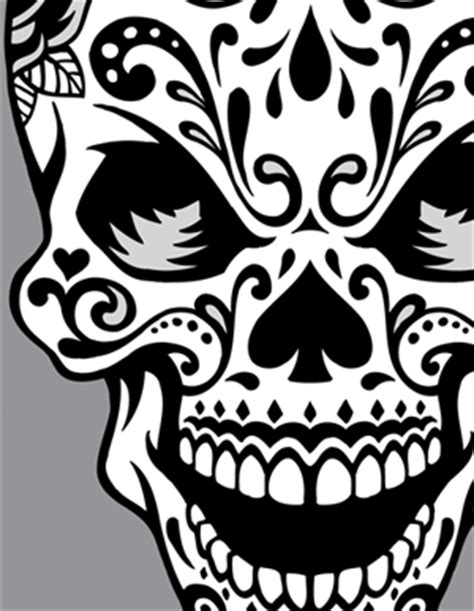 girly sugar skull clipart 20 free Cliparts | Download