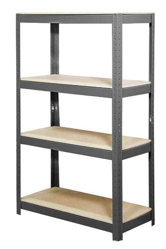 "4shelf Steel Shelving Kit 60"" H X 36""w X 16""d At Menards®"
