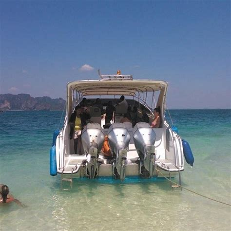 Speedboot Tour by Krabi 4 Islands Tour By Speedboat Snorkeling Thailand
