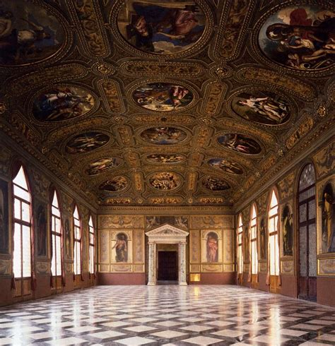 libreria nazionale paintings in the salon of the biblioteca marciana 1556 60