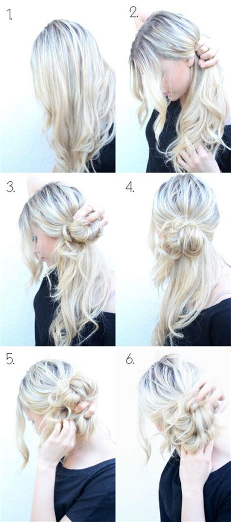 super cute step  step hairstyles