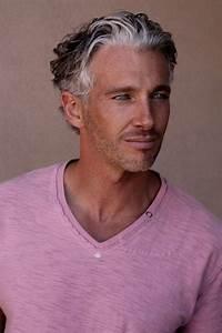 Mens Grey Hairstyles