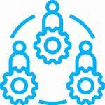 Management Asset Icon Team Revenue Enterprise Detection