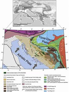 Plate Tectonic And Geologic Setting Of The Dinarides And
