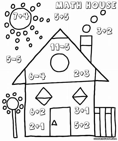 Math Worksheets Kindergarten Easy Subtraction Coloring Pages