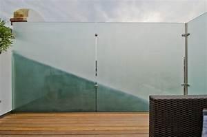 Glas Windschutz Für Terrasse : sichtschutz aus glas die neusten tendenzen in 49 bilder ~ Whattoseeinmadrid.com Haus und Dekorationen