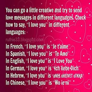Different Languages To Say I Love You – Bitami