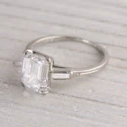 simple classic engagement rings vintage engagement ring simple but weddings