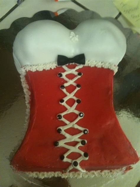 Corset Cake · A Body Part Cake · Baking on Cut Out + Keep