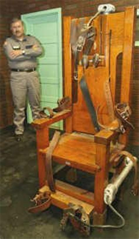 sparky the us electric chair i it was