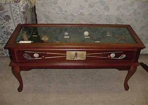 golf theme coffee table golf memoriablia display coffee With themed coffee tables