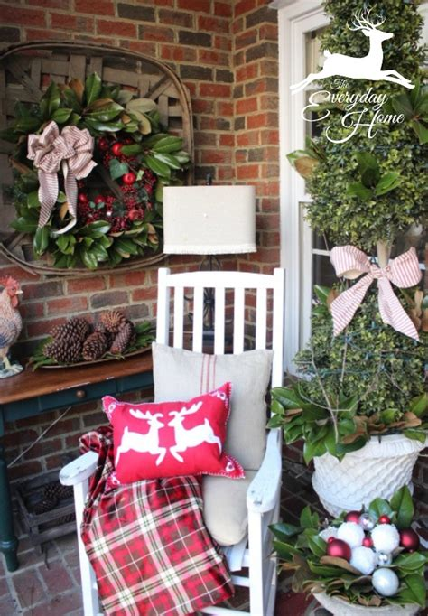 stunning christmas porch decor ideas honeybear lane