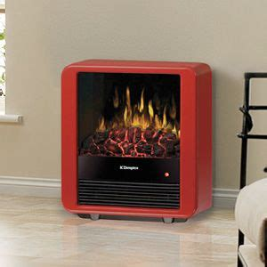 dimplex mini cube red freestanding electric stove