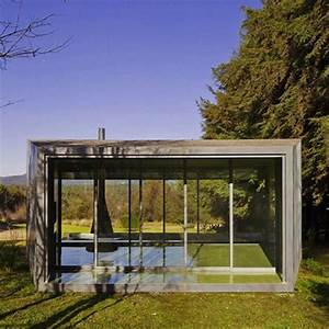 Glass House 2 : stylish mini glass house for relaxation by mexican architecture firm parque humano ~ Orissabook.com Haus und Dekorationen