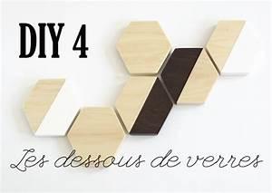 Dessous De Verre Bois : diy cadeau de no l 4 les dessous de verres en bois mademoiselle claudine le blog ~ Teatrodelosmanantiales.com Idées de Décoration