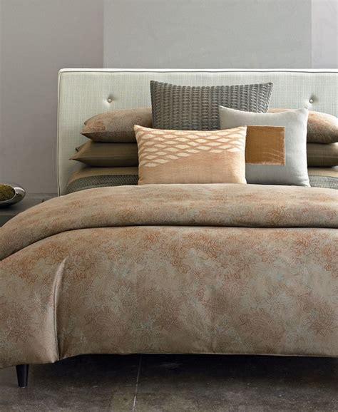 Calvin Klein Bedding by Calvin Klein Home Bedding Oxidized Paisley Duvet