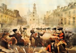 Boston Massacre Painting