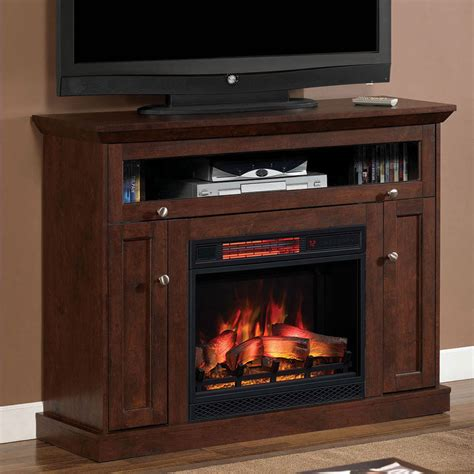 media electric fireplace wall or corner infrared electric fireplace media