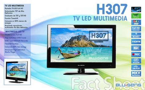 "Blusens H307B22A 22"" Full HD Black LED TV Manualzz"