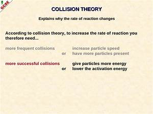 Rates Of Reaction A Guide For Gcse Students 2010