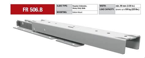 industrial drawer slides heavy duty drawer slides pertaining to fulterer