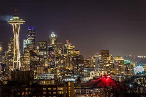Long Exposure of Seattle Skyline - OC (6000X4000 ...