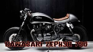 Kawasaki 750 Zephyr : cafe racer kawasaki zephyr 750 youtube ~ Jslefanu.com Haus und Dekorationen