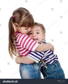 Kids Hugging Each Other
