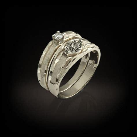 harley davidson wedding rings with harley davidson