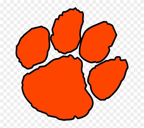 Tiger Paw Clip Free Clipart Tiger Paw Prints All About Clipart