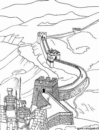 China Coloring Wall Pages Adult Asia Adults
