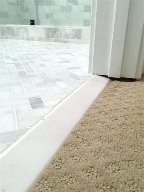 Door Saddle Tile & Tile To Carpet Transition Strips Image
